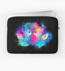 Anthropomorphized animals cartoon colorful Laptop Sleeve