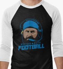 Motor City Football Men's Baseball ¾ T-Shirt