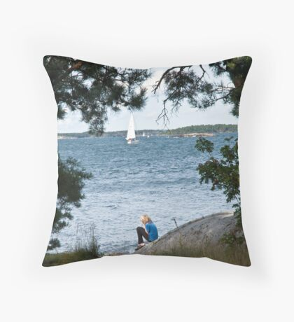 Dreaming and Longing Throw Pillow