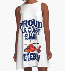 Proud CG Veteran Design by MbrancoDesigns A-Line Dress