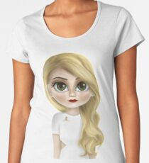 Jennifer Morrison Women's Premium T-Shirt