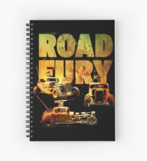 Road Fury Spiral Notebook