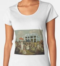 Along The Levee Women's Premium T-Shirt