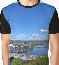 River Ness, Inverness, Scotland. Graphic T-Shirt