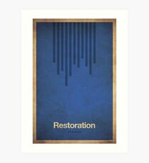 Restoration Shaman - WoW Minimalism Art Print