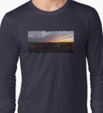 Sunset - April 6, 2018 7:34PM. Long Sleeve T-Shirt
