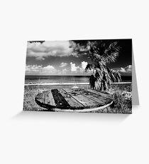 Cyprus Beach Bar Greeting Card