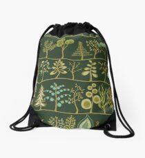 Funky trees Drawstring Bag