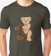 Stripping Teddy 'Bare' - Short Sleeve Unisex T-Shirt