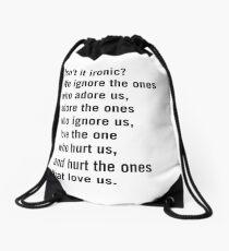 Is not it paradoxical? Drawstring Bag