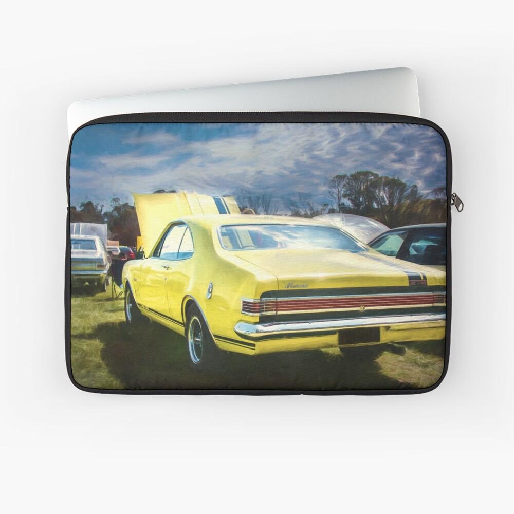 Yellow Holden HK Monaro GTS Laptop Sleeve