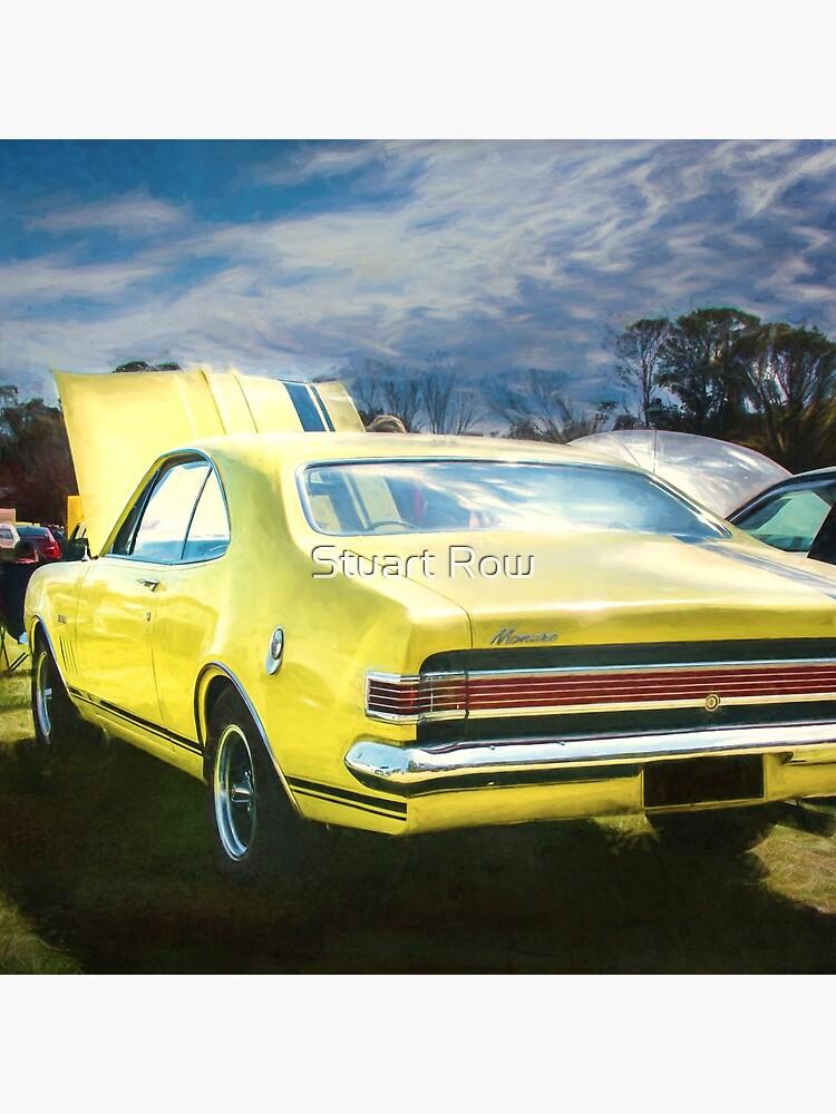 Yellow Holden HK Monaro GTS by StuartRow