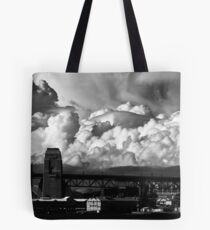 Storm Clouds Gathering Tote Bag
