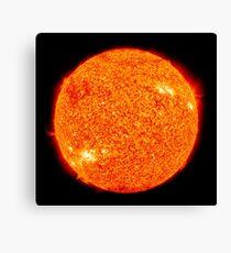 The Sun | Fresh Universe Canvas Print