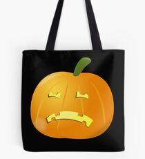 Sad Jack O Lantern Tote Bag