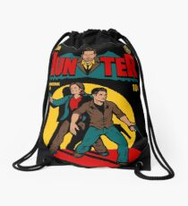 Hunter Comic Drawstring Bag