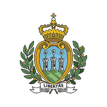 Coat of Arms of San Marino by fourretout