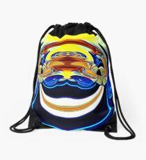 contemporary techno art 1012 Drawstring Bag