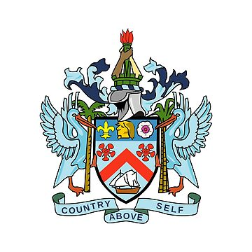 Coat of Arms of St. Kitts and Nevis by fourretout
