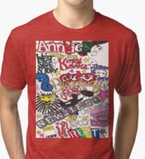 Broadway Shows collage Tri-blend T-Shirt