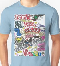 Broadway Shows collage Unisex T-Shirt