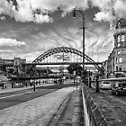 Newcastle Quayside by David Lewins
