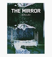 The Mirror by Andrei Tarkovsky poster Photographic Print