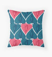 Exotic tropical plants. Throw Pillow