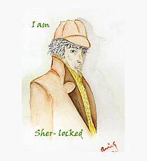 Sher-locked Photographic Print