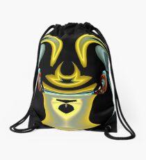 contemporary techno art 1021 Drawstring Bag