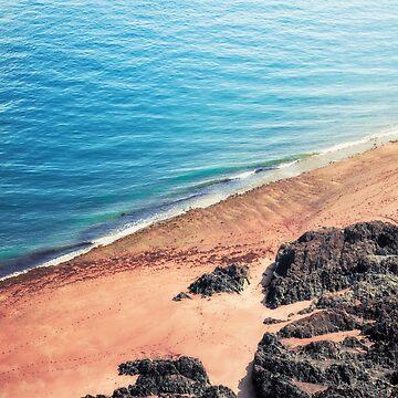 Rocky Beach Aerial by DyrkWyst