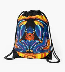 contemporary techno art 1027 Drawstring Bag