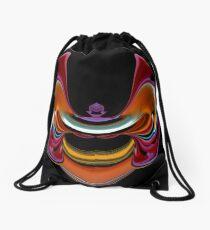 contemporary techno art 1030 Drawstring Bag