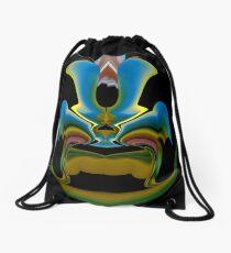 contemporary techno art 1036 Drawstring Bag