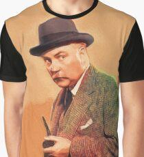 Nigel Bruce, Vintage Film Star as Dr. Watson Graphic T-Shirt