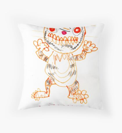 Timmy the Tiger Throw Pillow