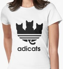 Adicats - Addicted to cats Women's Fitted T-Shirt