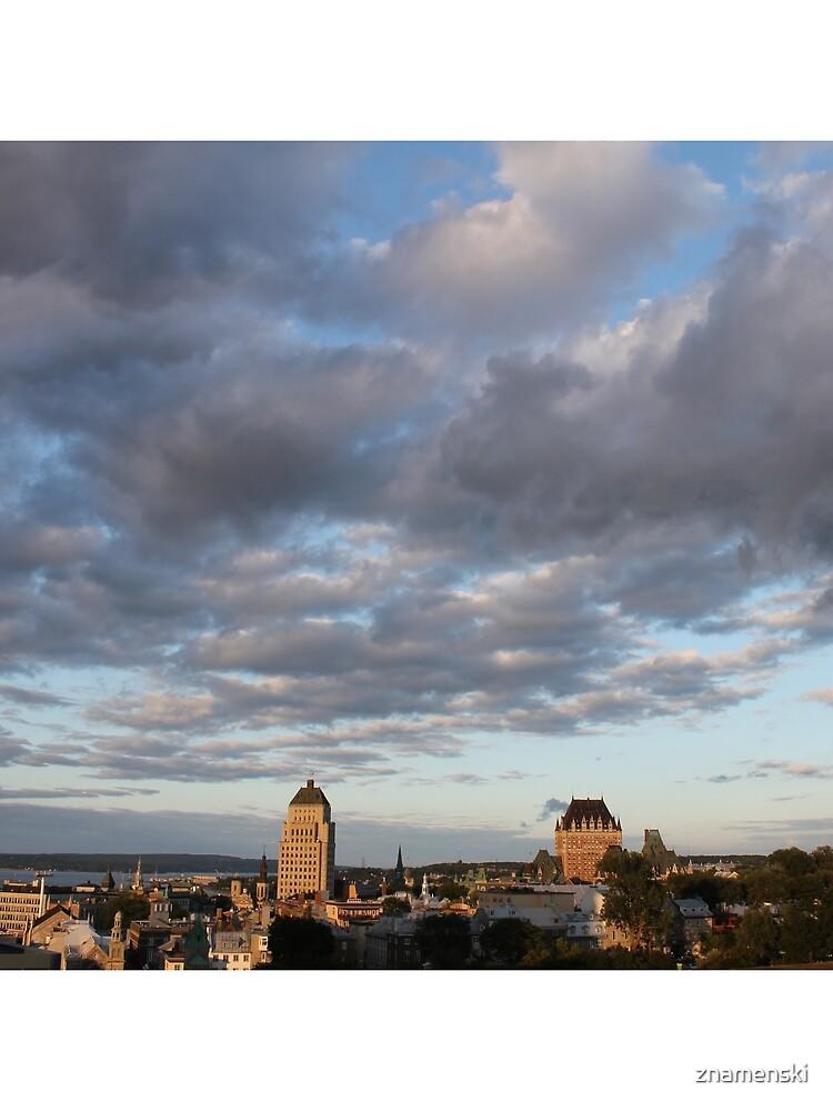 Quebec City, #QuebecCity, #Quebec, #City, #Canada, #buildings, #streets, #places, #views, #nature, #people, #tourists, #pedestrians, #architecture, #flowers, #monuments by znamenski
