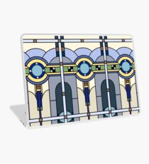 Glasmalerei Art Deco Laptop Folie