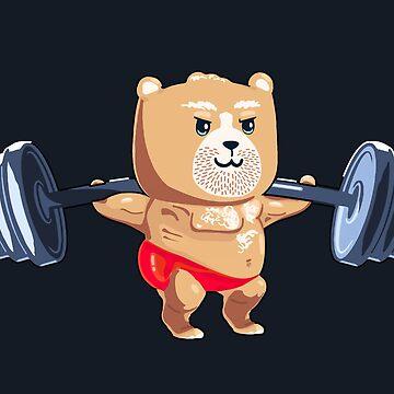 Burly Bear by RealBooBear
