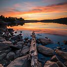 Algoma Sunset by justinrusso
