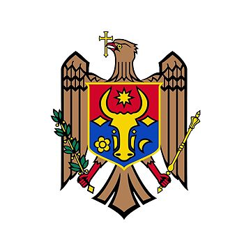 Coat of arms of Moldova by fourretout