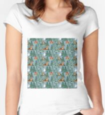 Merry Corgmess Women's Fitted Scoop T-Shirt
