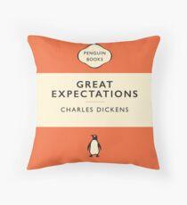 Penguin Classics Great Expectations Throw Pillow