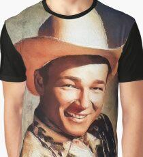Roy Rogers, Vintage Western Legend Graphic T-Shirt