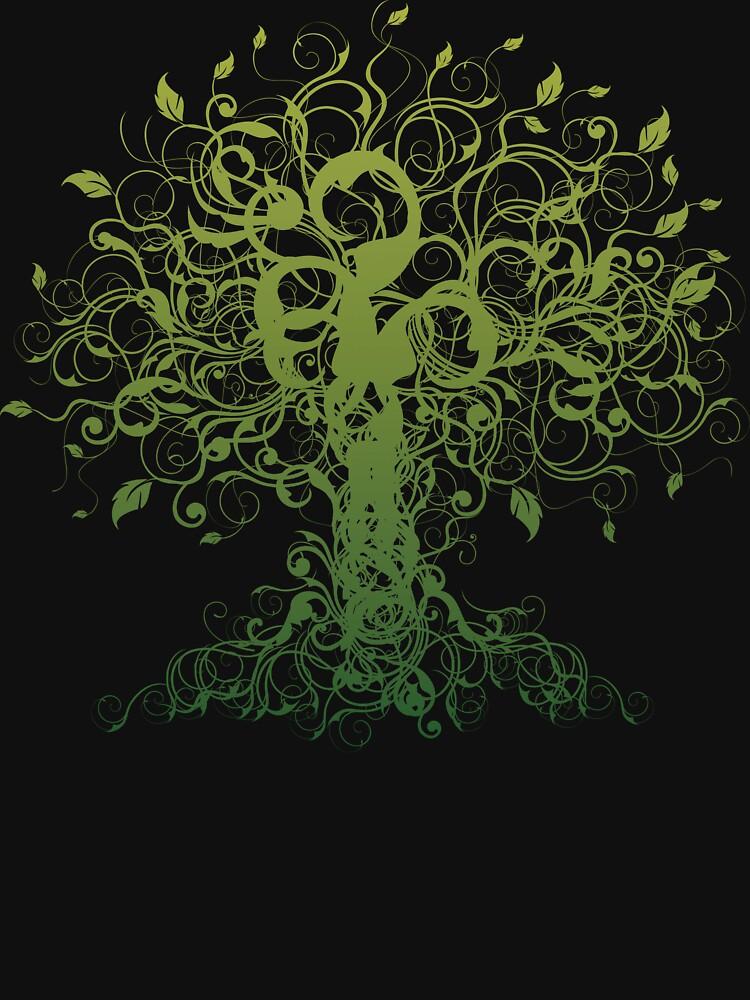 Meditate, Meditation, Spiritual Tree Yoga by T-ShirtsGifts