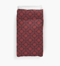 Pattern of Isle Of Dogs I Duvet Cover