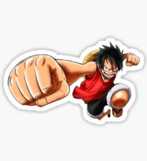 Luffy Gomu Gomu no pistol, One piece Sticker