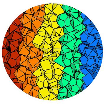 Rainbow Polyhedral Dice 2 by BPAH