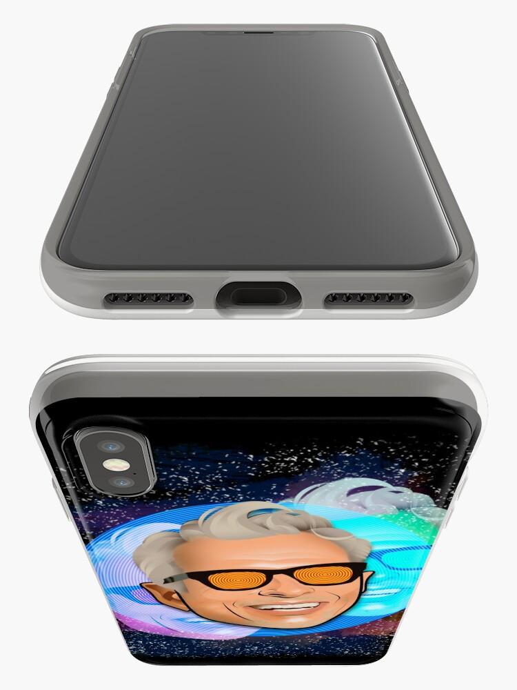 Alternative Ansicht von Kosmischer Goldblum iPhone-Hülle & Cover